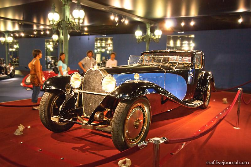 Автомузей; Национальный музей автомобилей, Мюлуз (Mulhouse), Франция; Bugatti Type 41, 1929